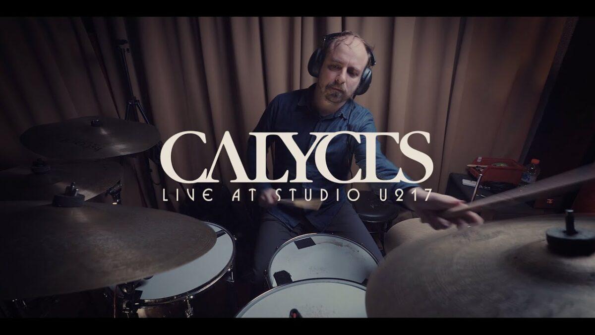 Οι Calyces ζωντανά από το studio U217