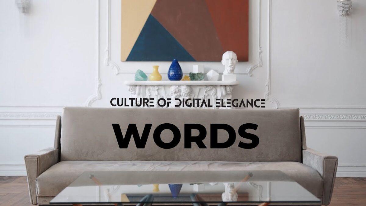 "Culture Of Digital Elegance (C.O.D.E) – Νέο βίντεο για το κομμάτι ""Words"""